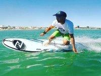 El Mediterráneo en tabla de surf eléctrica