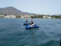 Salida en moto de agua en pareja Estepona
