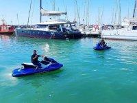 Con jetski por el Puerto de la Duquesa