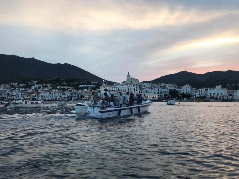 Boat trip across Cap de Creus