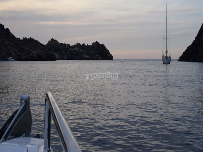 Views of Cap de Creus nature reserve