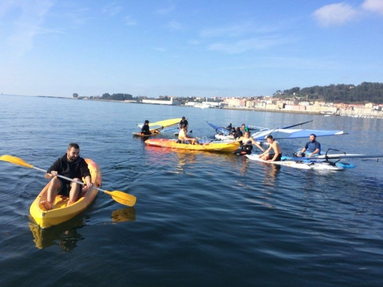 A day of sports in Pontevedra