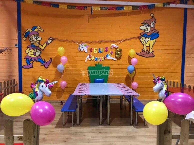 Fiestas infantiles temáticas en Valdemoro