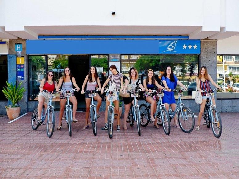 Bike rental for groups in Adeje