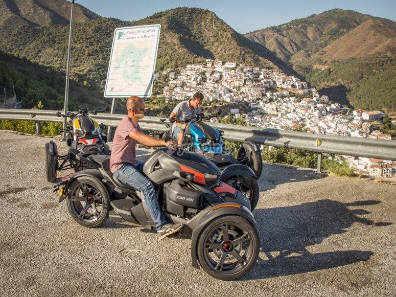 Giro in trike in Río Molinos