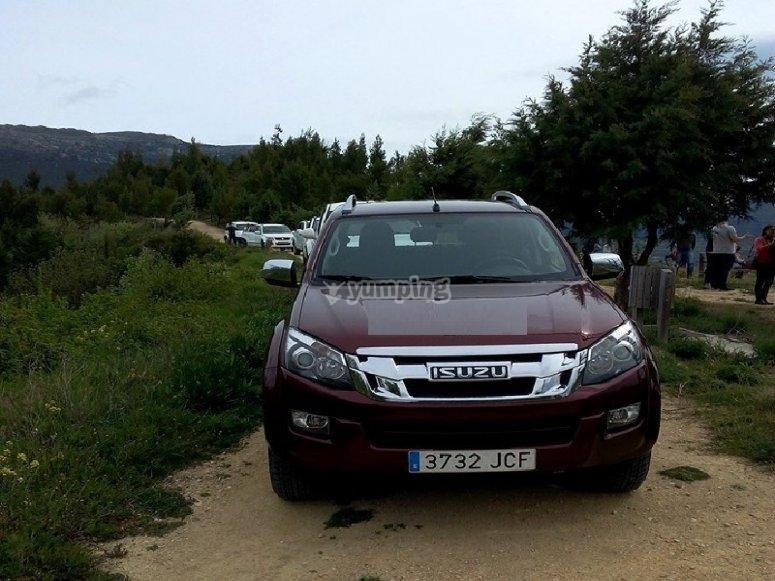 4x4 route through the mountains of Vizcaya