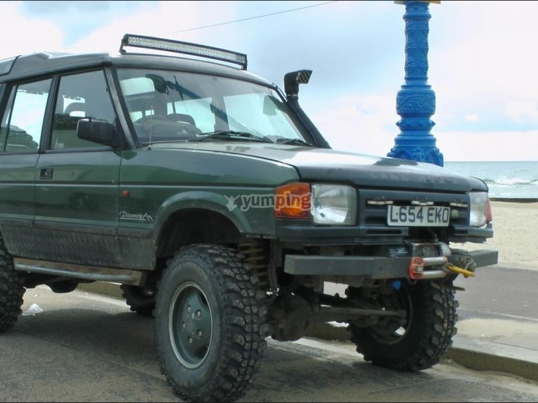 4x4 excursion from Gexto