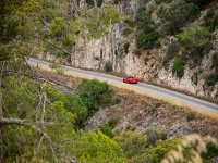 Rincones barceloneses conduciendo un Ferrari