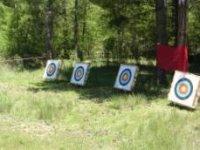 Dianas para tiro con arco
