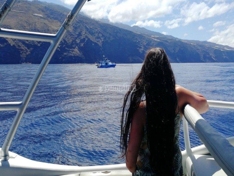乘船游览Tazacorte