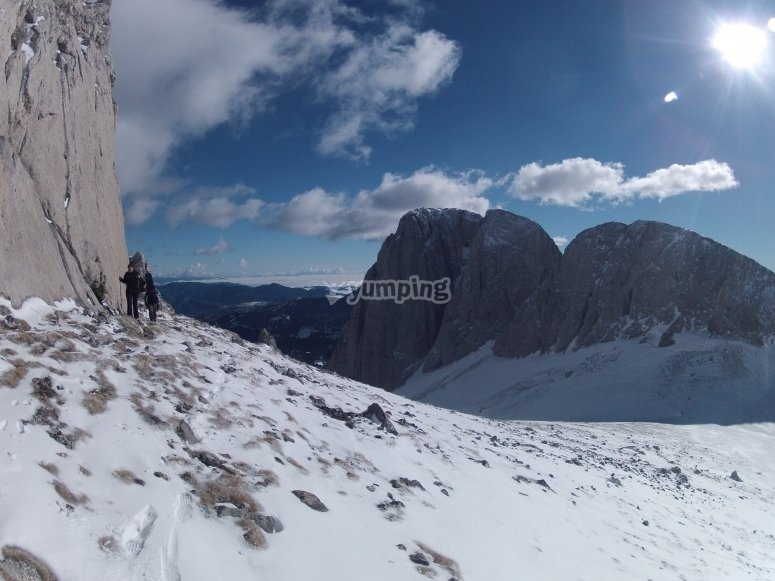 Meet Pedraforca in Snow Season