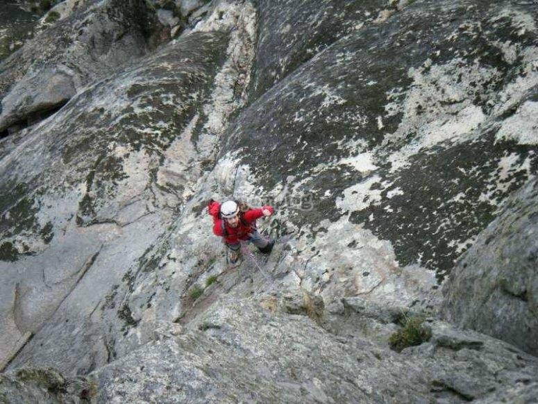 瓜达拉哈拉登山者的攀岩日