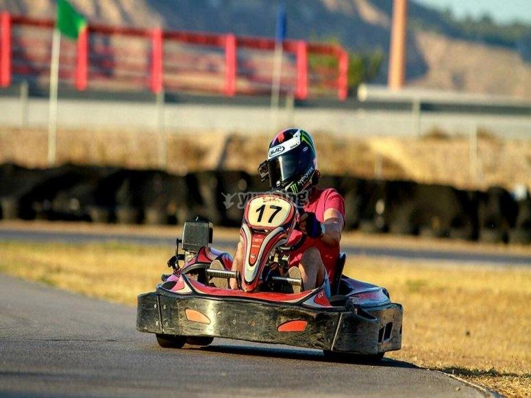 Jornada de karting en Torrejón de Ardoz