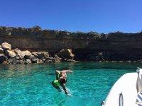 Tour en barco y snorkel por islas de Formentera