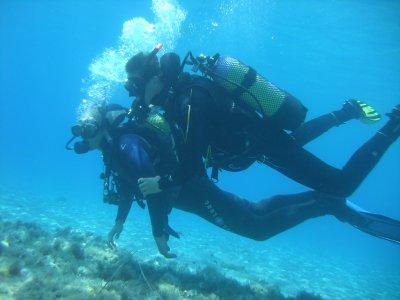 2 inmersiones de buceo con titulación Formentera