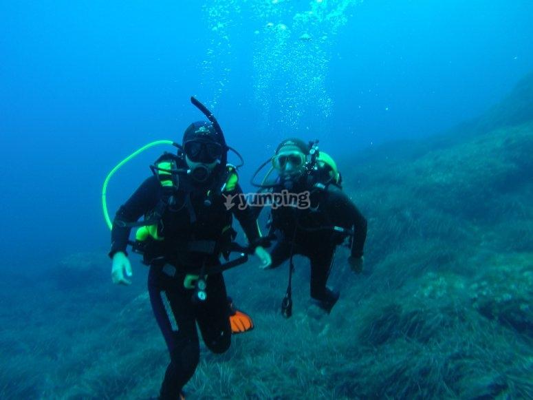 了解福门特拉岛(Formentera)的深度-在福门特拉岛(Formentera)开阔水域的第一步