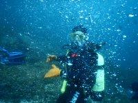 Bautizo de buceo en aguas abiertas Formentera 1h