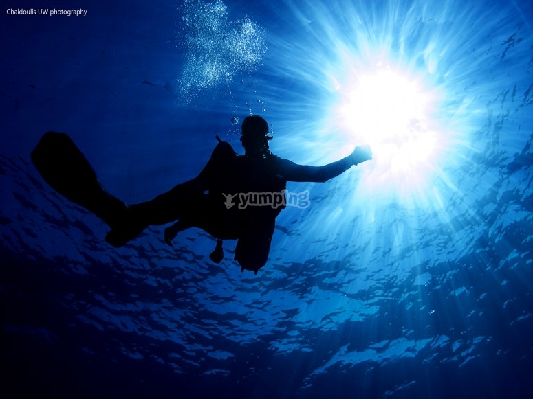 Jornada de buceo en aguas formenteranas confinadas