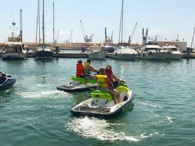 Paseo ryker y moto de agua por Costa de Grao 90min