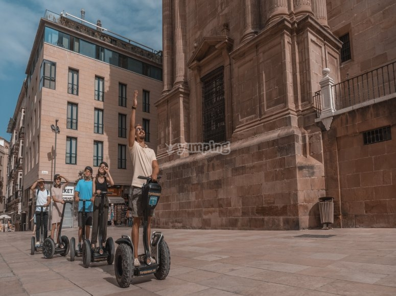 Tour the streets of Malaga by segway