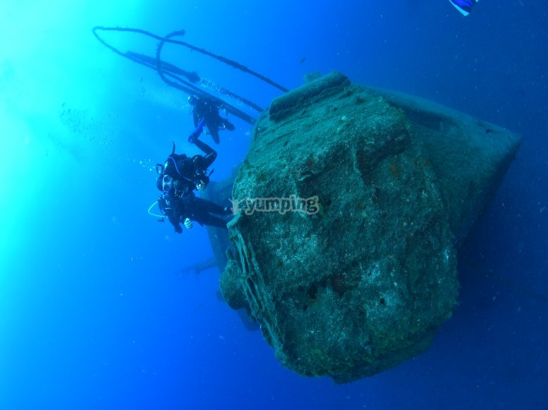 Los barcos hundidos que encontrarás en Tenerife
