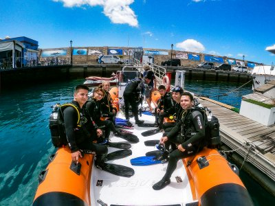 2 inmersiones buceo en Tenerife 4h