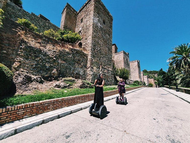Visit the Alcazaba in Malaga by segway