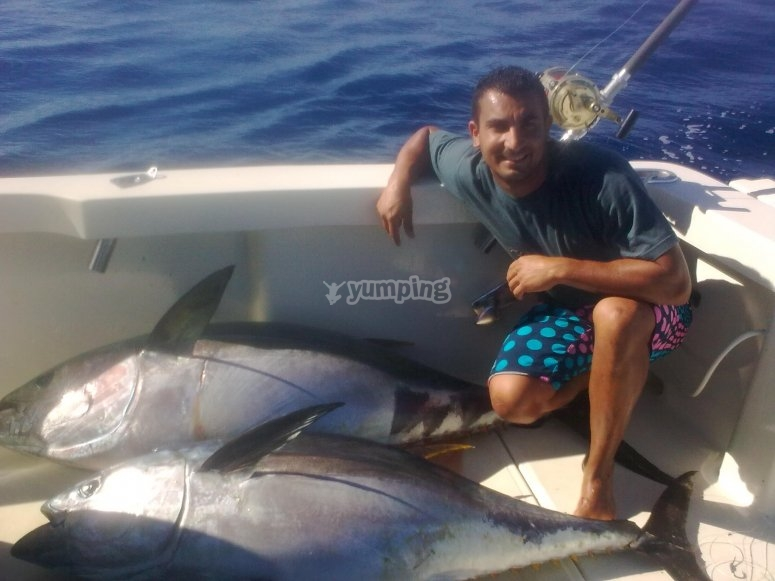 Jornada de pesca en Costa Adeje