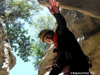 水徒步旅行Canyonning