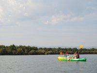 Salida en kayak biplaza