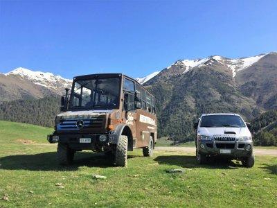 Tour guiado en 4x4 por lagos Cubil y Pessons 4h