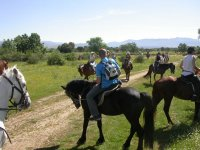 Horse route south area of ​​Torcal de Antequera 1h
