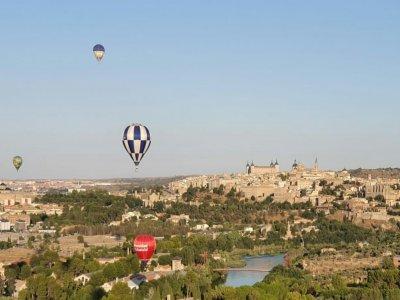 Toledo 1h儿童的气球飞行和零食