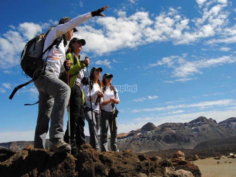 Rumbo a las alturas del Teide