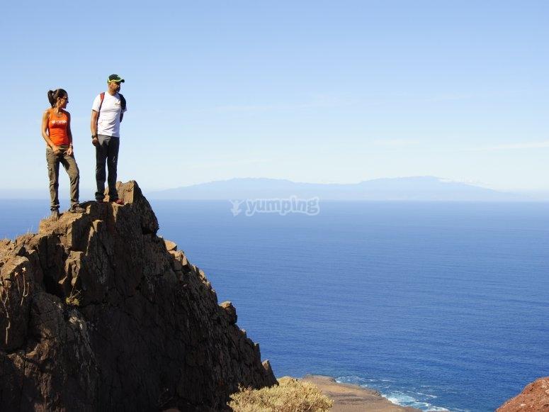 Vistas de la Punta del Teno