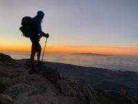 在El Teide的星空下远足3小时