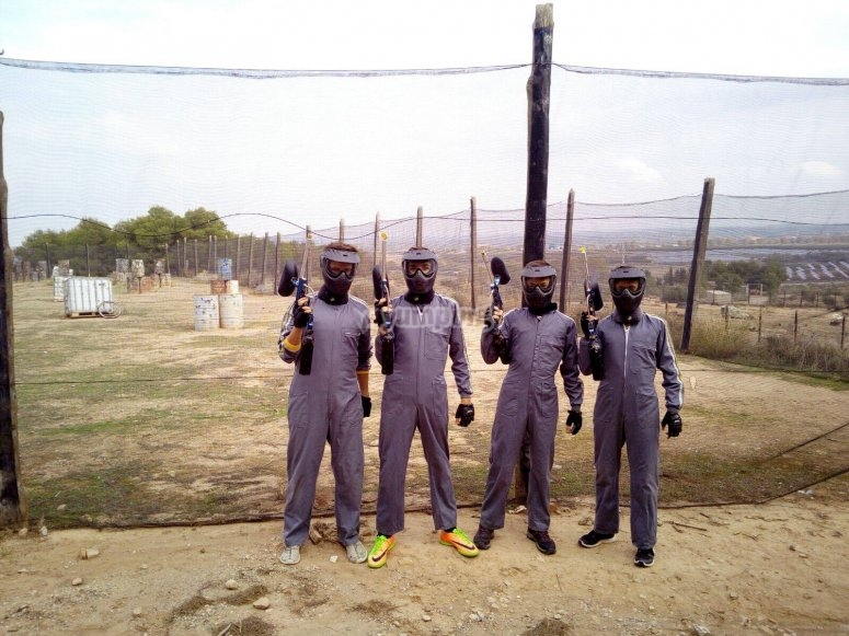 Players ready to enter the battlefield in Juneda