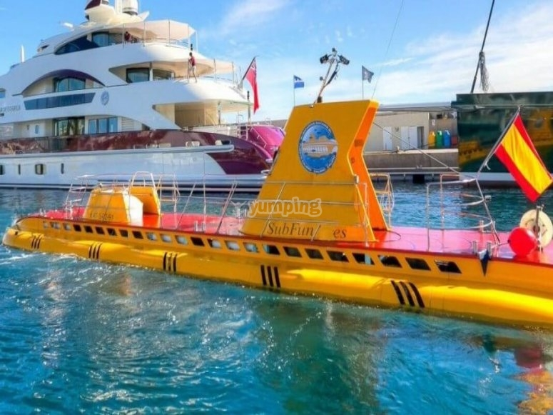 Salir a navegar en submarino Tenerife
