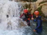 Una cascada