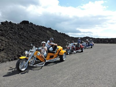Motor Trike Tour of Timanfaya, 3,5 hours