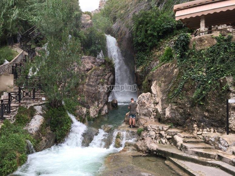 In the waterfalls of Waterfall