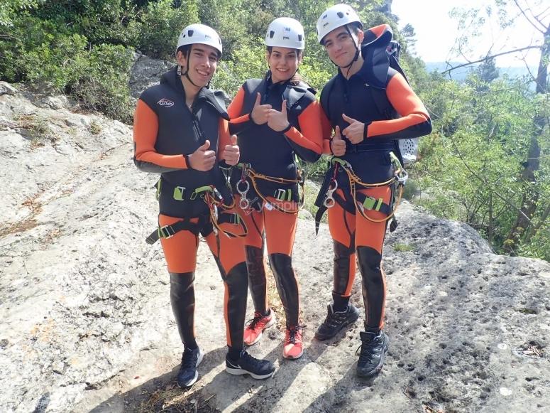 与峡谷探险队的朋友
