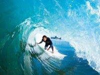 Surcando las olas