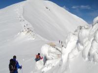 冬季徒步旅行至Pic de Bastiments