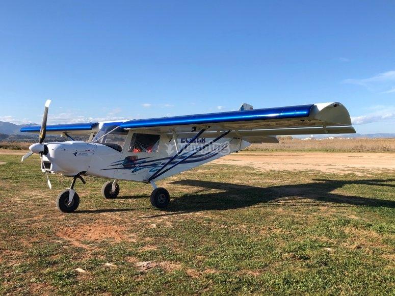 Nuetro Savannah listo para el vuelo por La Llosa