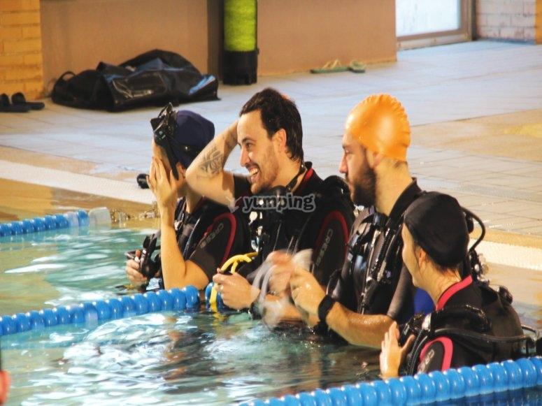 马德里的潜水课