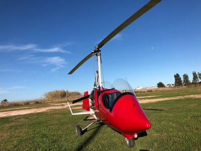Pilot for a day autogyro in La Llosa 30 minutes