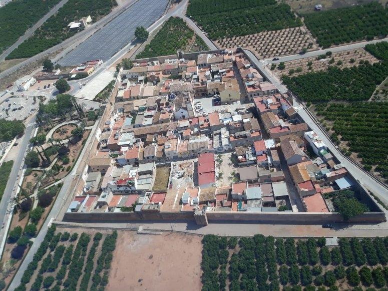 Panorámica aérea de La Llosa desde el ultraligero
