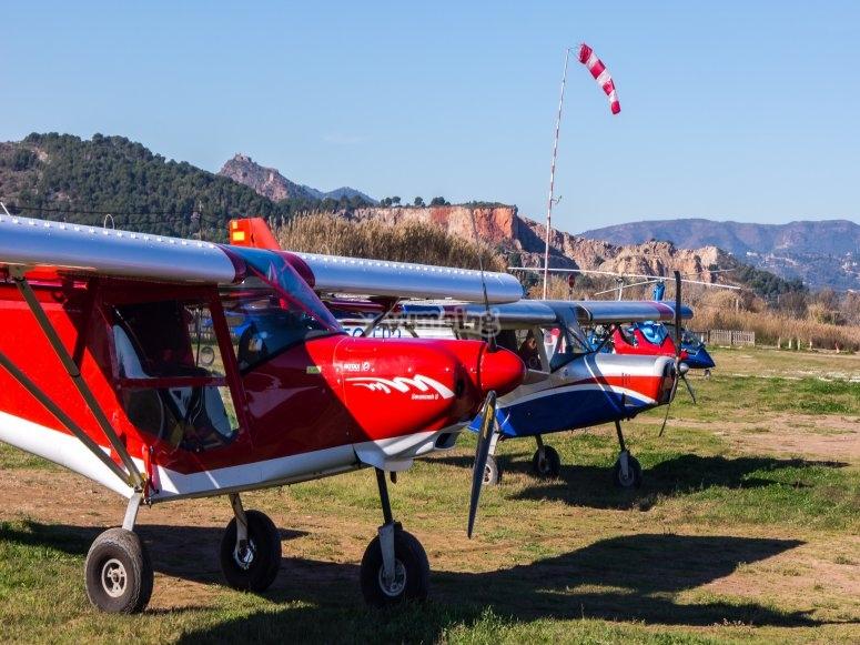 Nuestras avionetas de ala fija