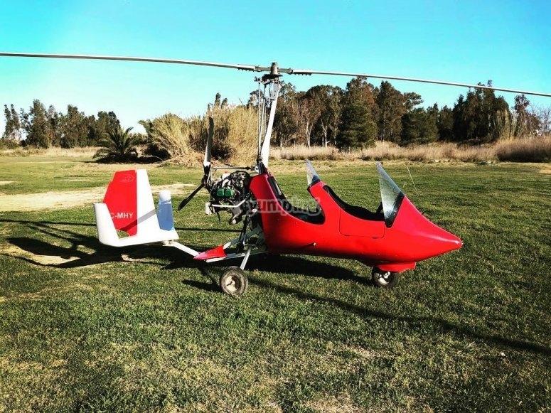 Autogiro sta per volare da Castellón